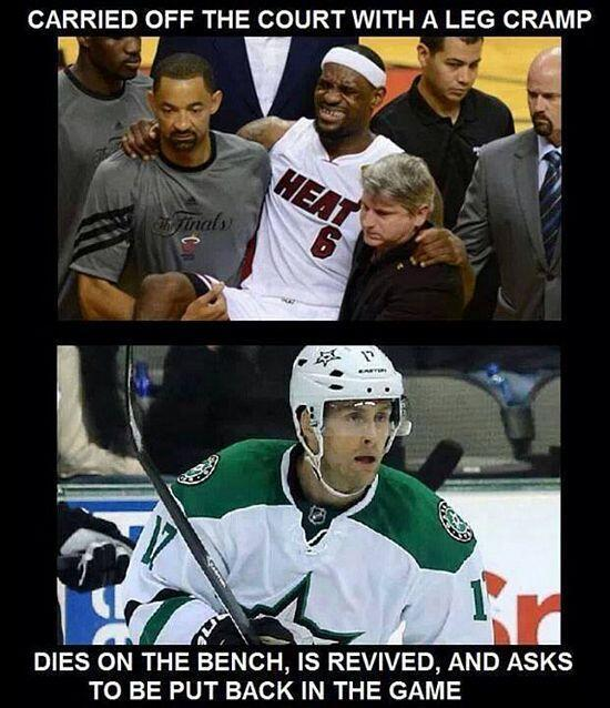 Love hockey players - meme