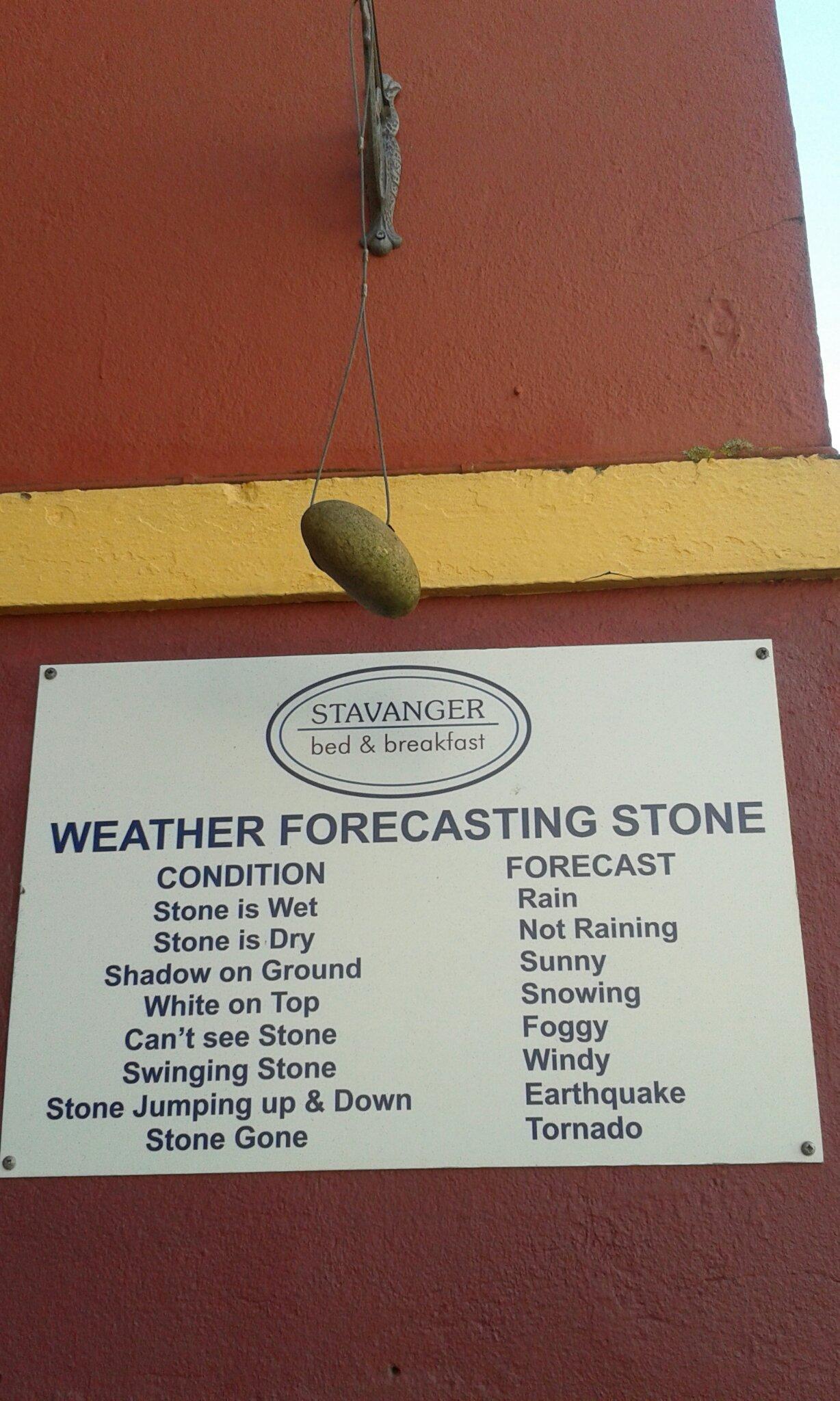 Forecasting stone - meme