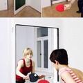Puerta-mesa de ping pong