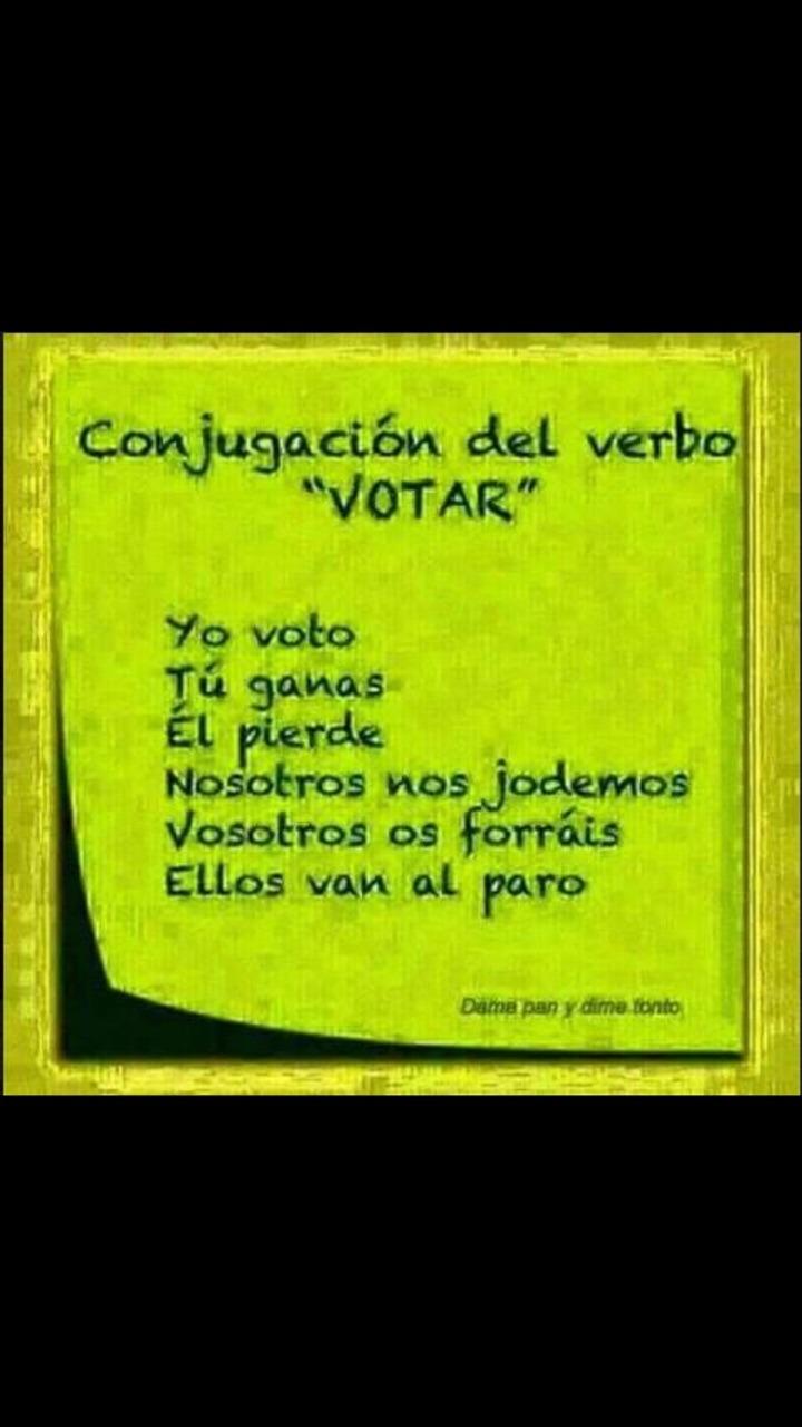 Votar... - meme