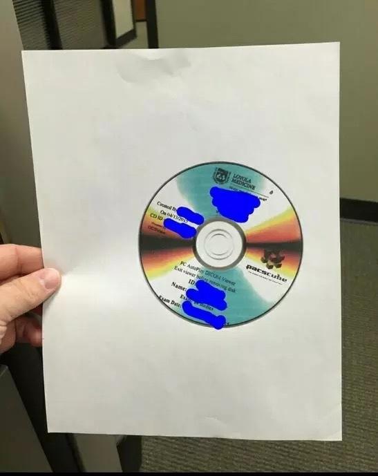 Pediram uma cópia do CD - meme