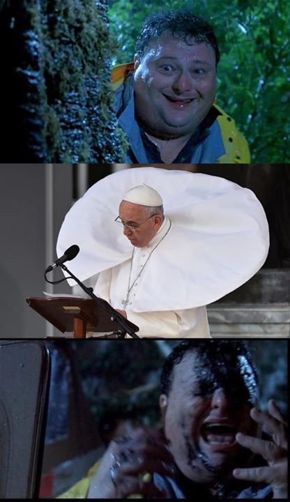 Hey look guys it's the Pope - meme