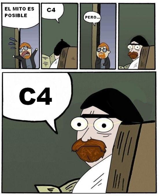 C4 e dicho - meme