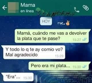 Linda la mama :( - meme