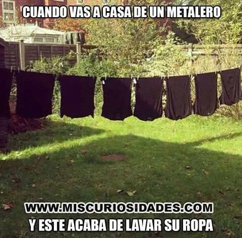 Metaleros \:v/ - meme