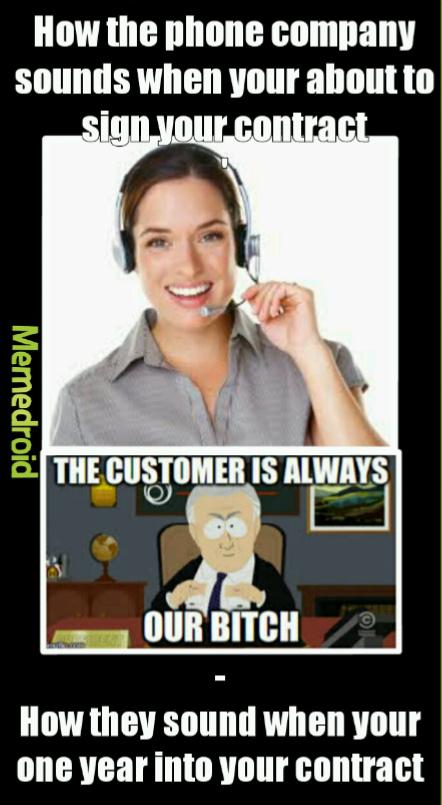 Damn phone companies!!! - meme