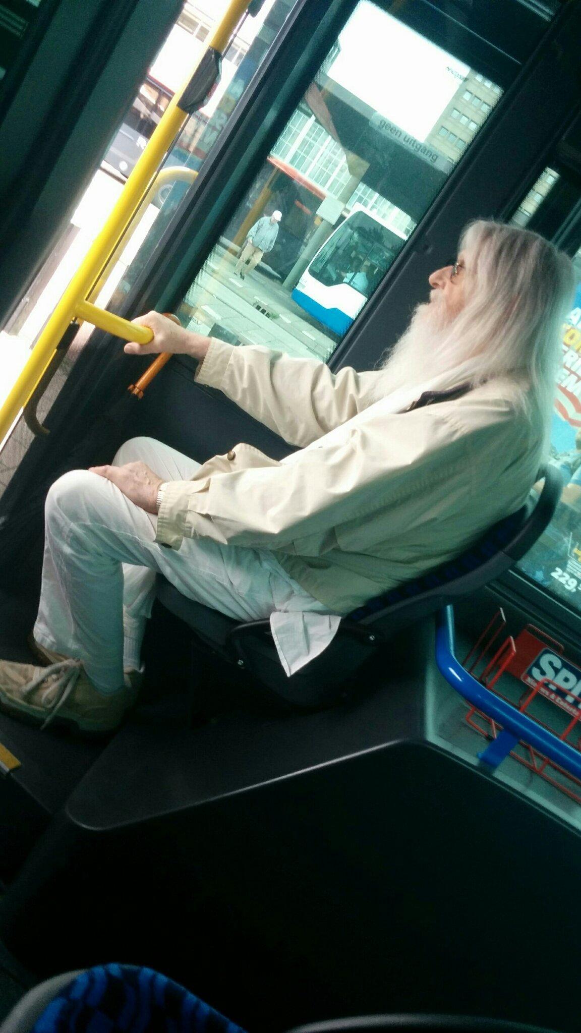 Gandalf went by bus - meme