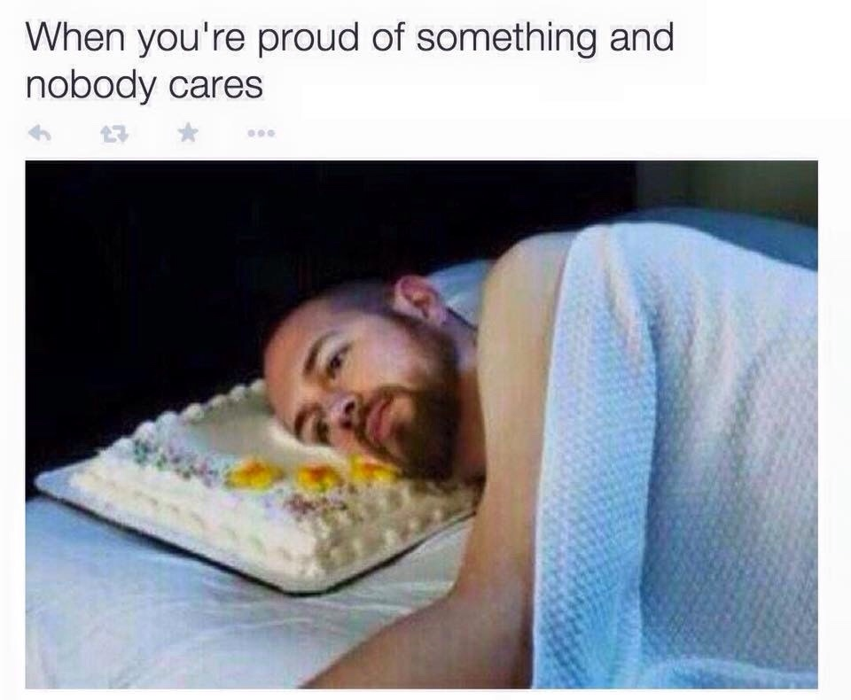 when I got my platinum trophy - meme
