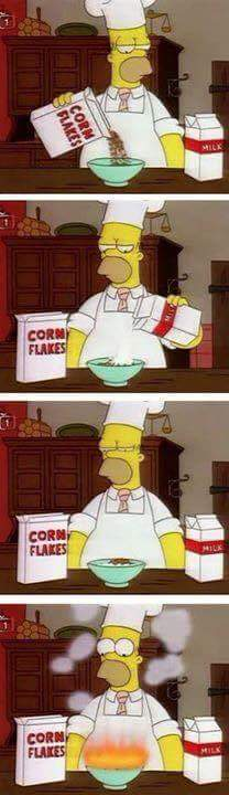 La cuisine d'Homer - meme