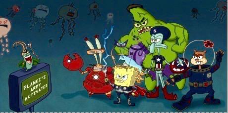 Avengers edition bob l'éponge - meme