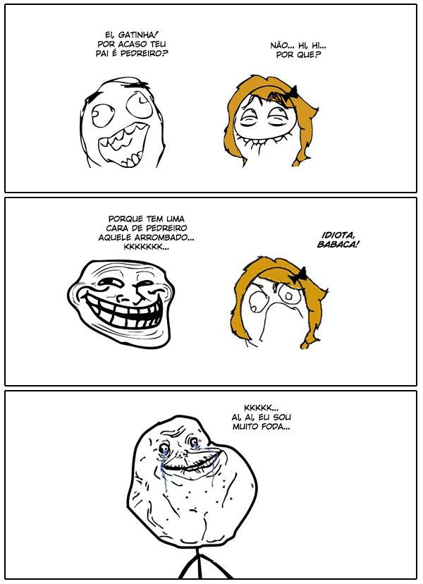Trollando as Minas - meme
