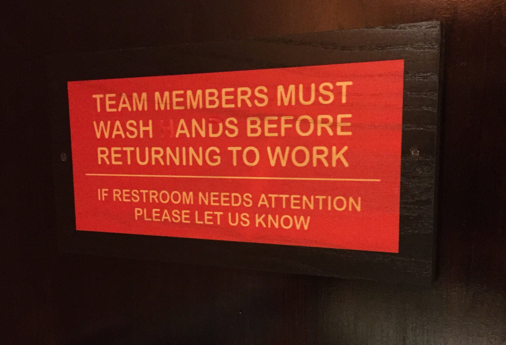 Must wash what? - meme