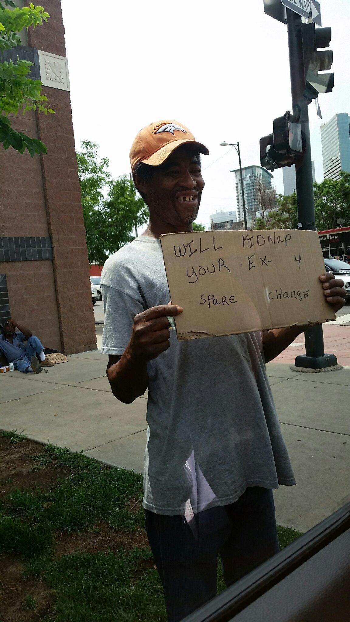 Cool homeless dude is cool - meme
