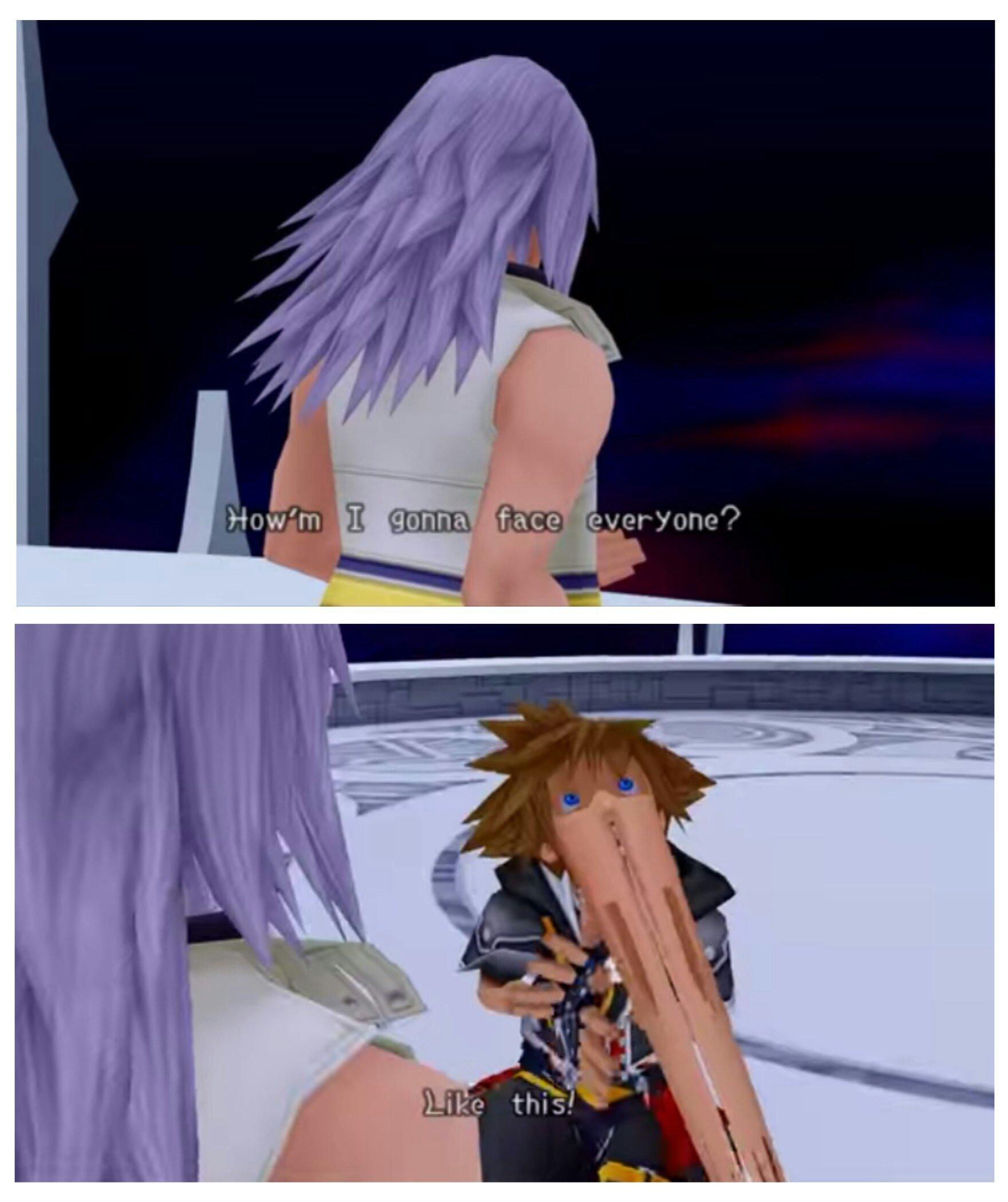 favorite kingdom hearts character ? =) - meme
