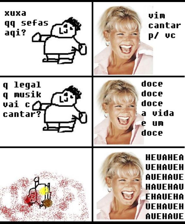 Xuxa Wins. FATALITY - meme