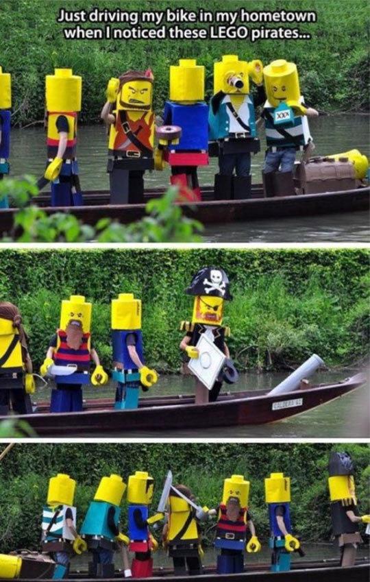 Lego pirate - meme