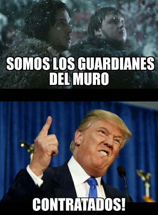 El muro - meme