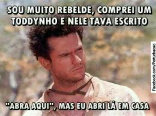Sou mto rebelde ~(' -' ~),mas dolly é melhor,dolly é mitoso e tranzudo ;) :) - meme