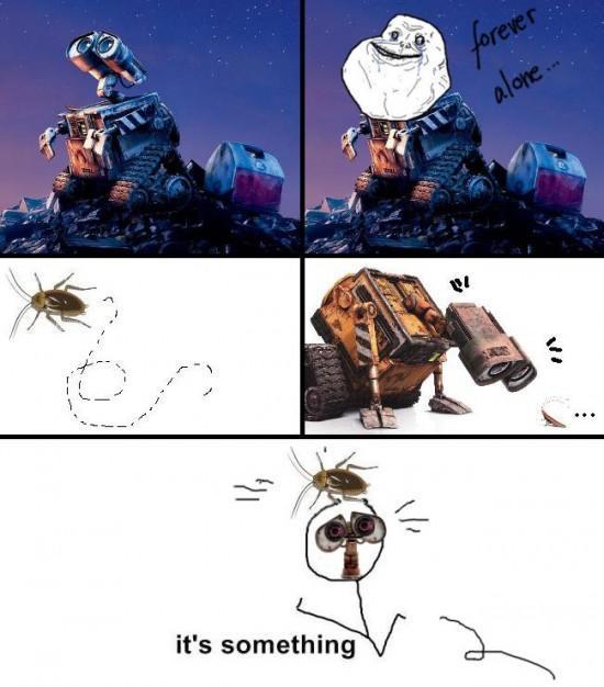 Wall-e has a friend - meme