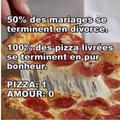 Vive les pizza