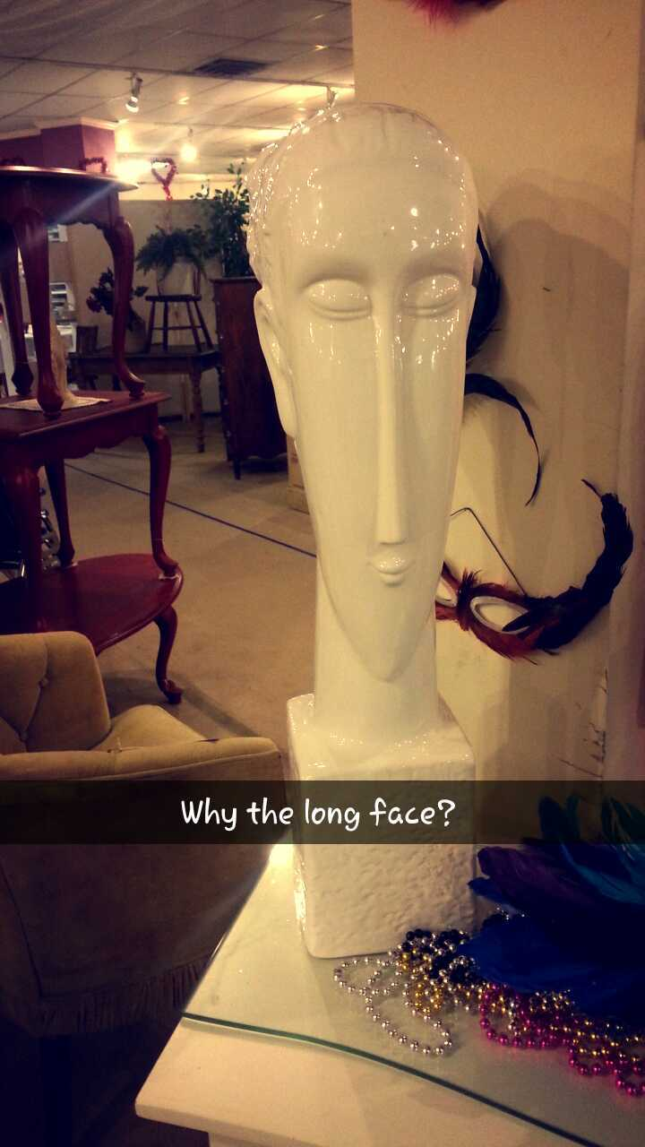 Long face - meme