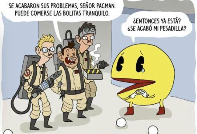 Caza FantPackman - meme