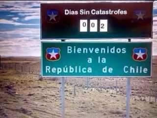 Bienvenidos a  Chile - meme