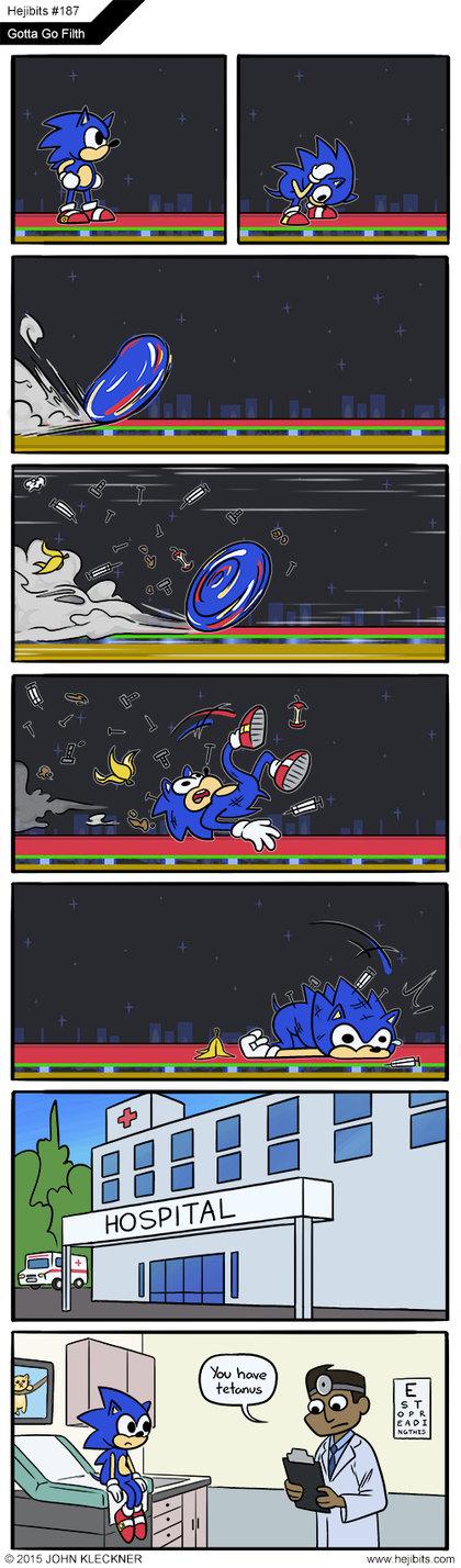 Poor Sonic - meme