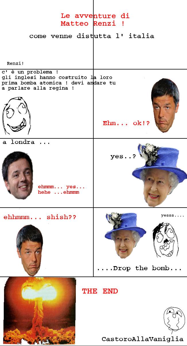 Renzi Adventures - meme