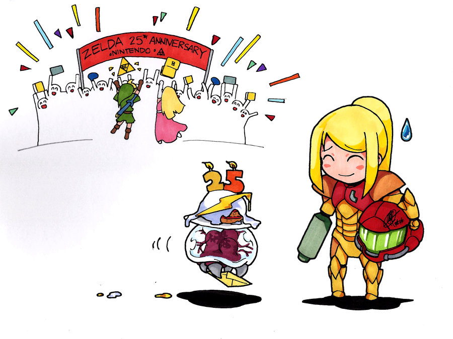 It's okay Samus you live on in the fans hearts - meme
