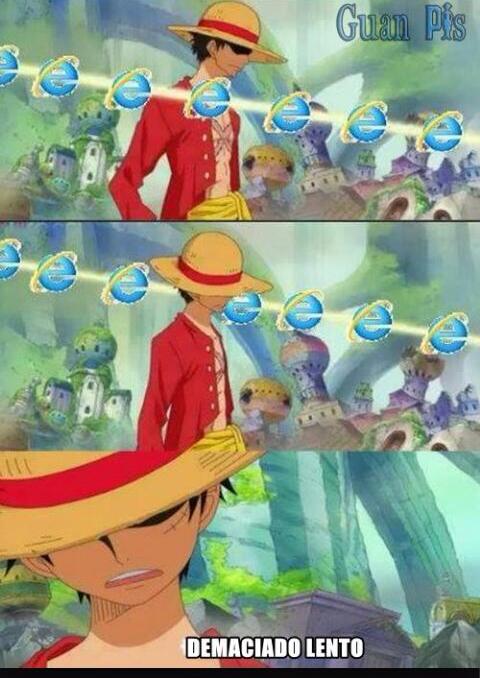 Jajaja ese internet explorer - meme