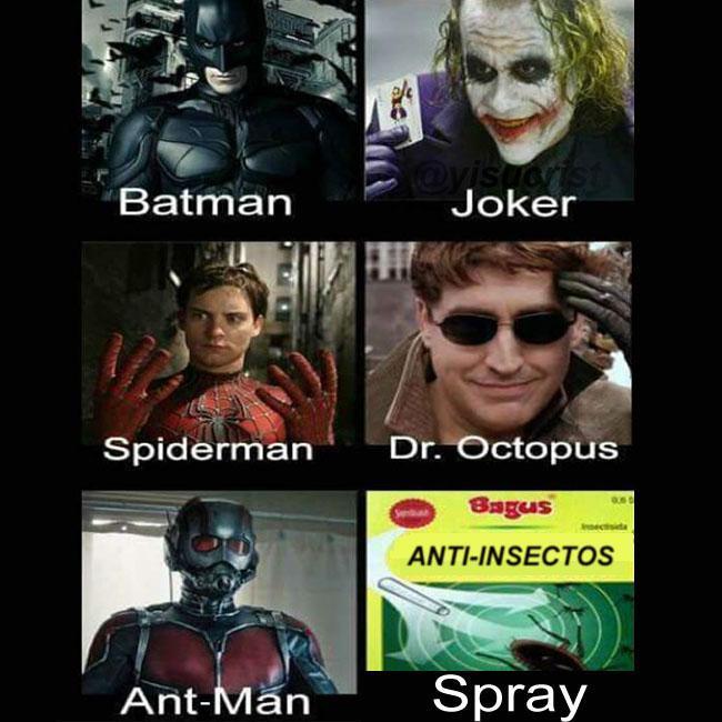 Pobre ant-man :( - meme