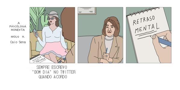 A psicóloga honesta #7 - meme