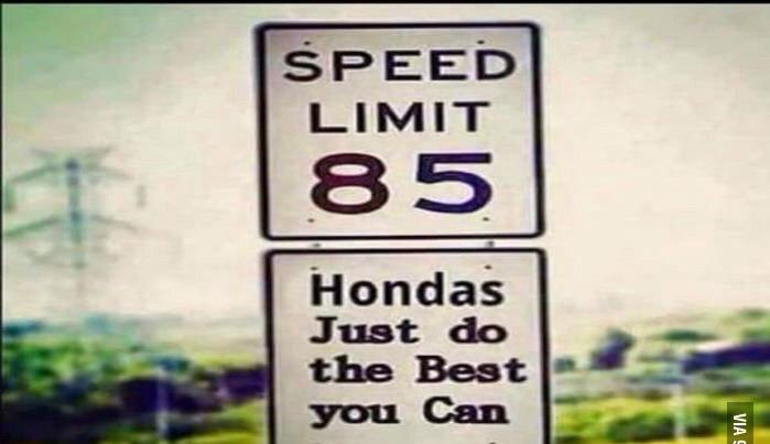 Honda stink - meme