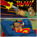 Easyyyy ma gueule ! #SuperManStyle
