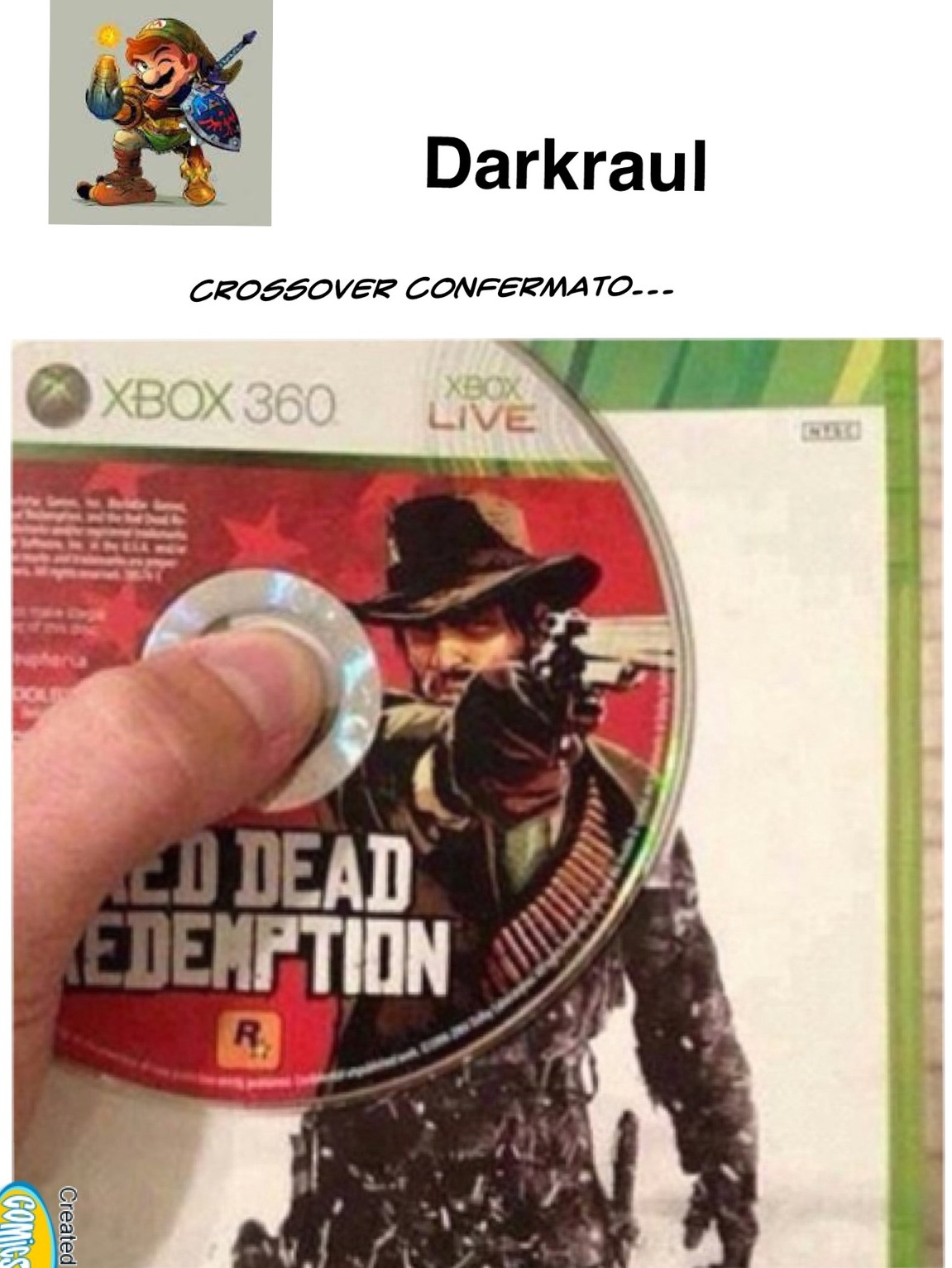 Crossover confermato - meme