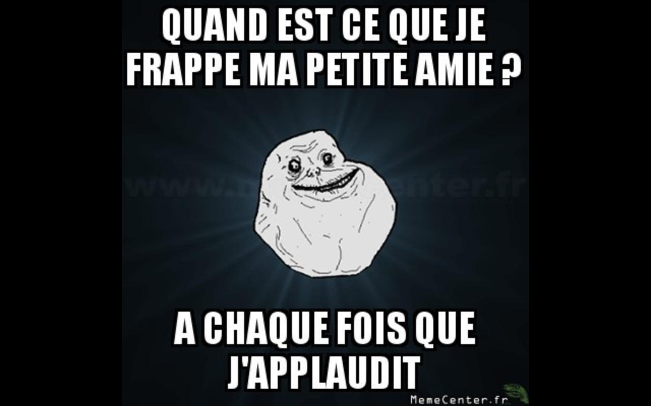 Forever alone... - meme