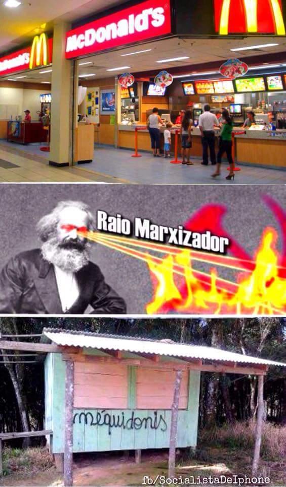 Socialista de iphone - meme