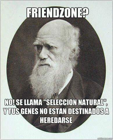 Selección natural... - meme
