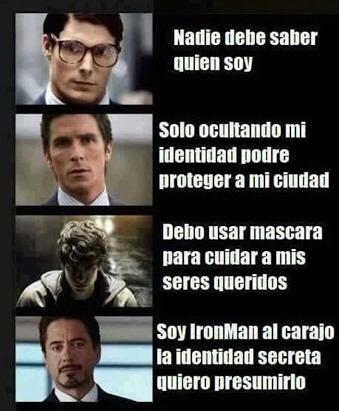 Identidad Secreta - meme
