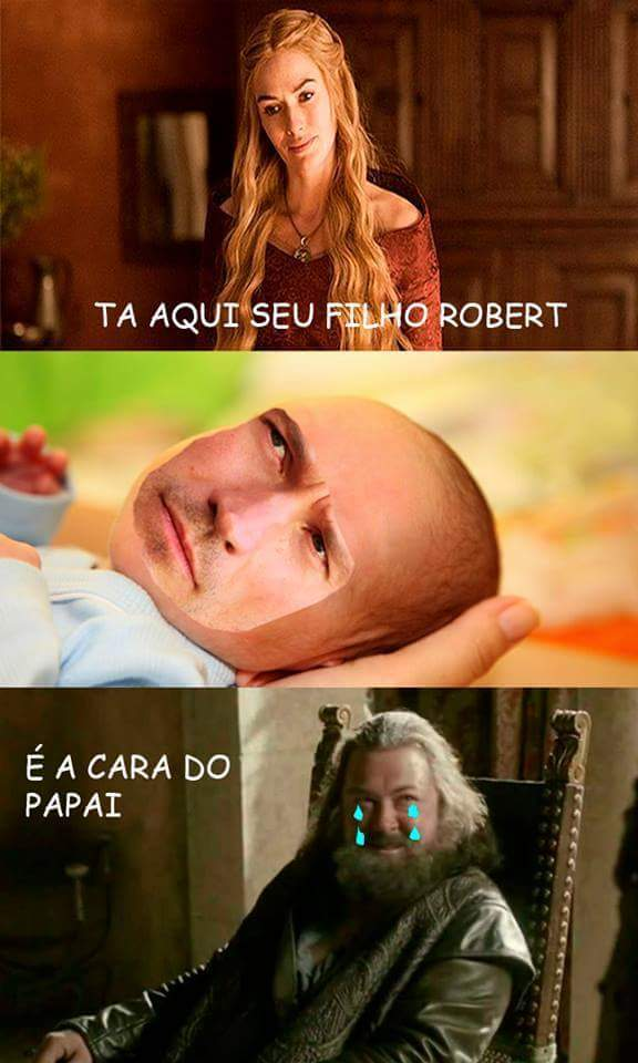 Robert o corno manso - meme
