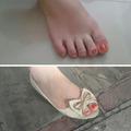 La flemme de se vernir les pieds