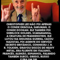 Christopher lee :(