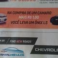 Se alguém estiver interessado no Camaro, por favor, me avisa. Pois eu tenho 1 real e gostei muito do Onix..