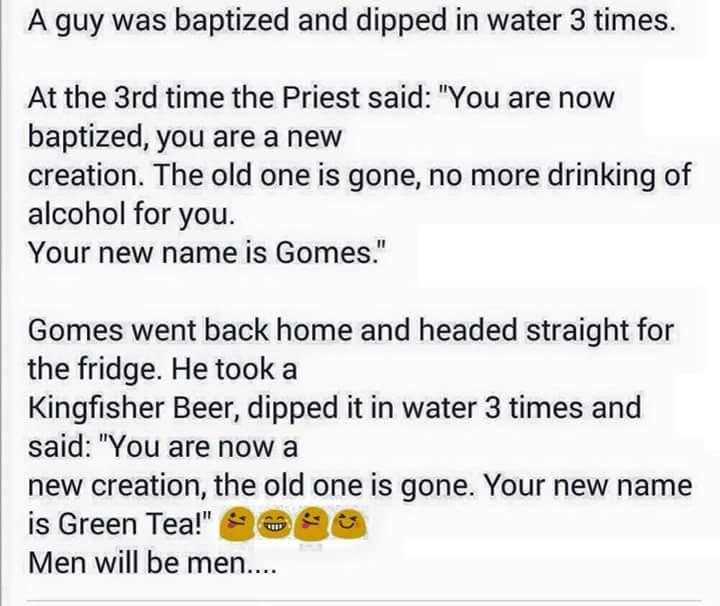 Baptism failed - meme