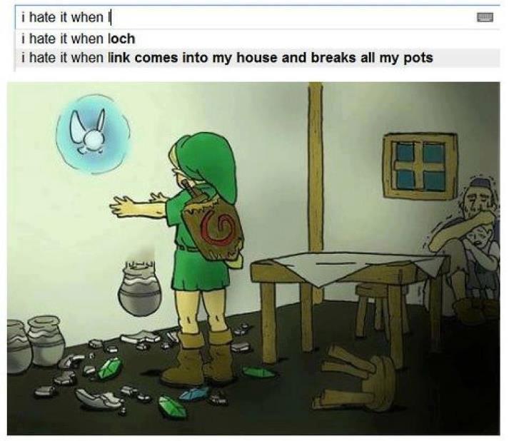 Enfoiré de Link ! - meme