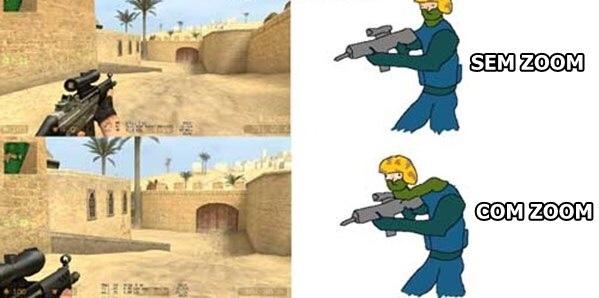 realidade dos jogos - meme