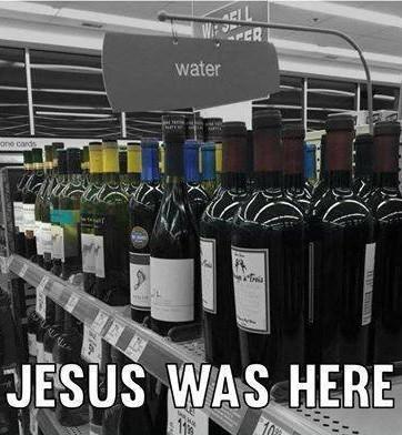 « Jesus était là » - meme