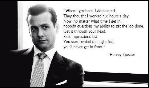 Harvey Specter Ladies and Gentleman!! - meme