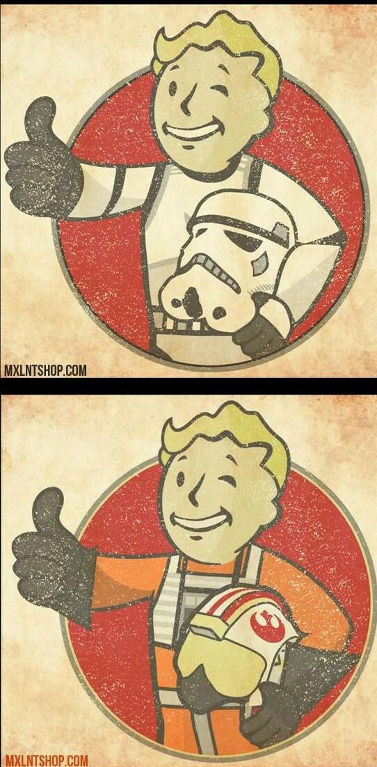 Fallout star wars - meme